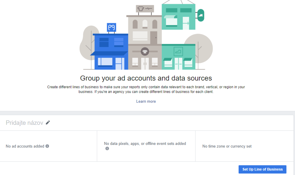 Facebook Attribution - Group your ad accounts and data sources
