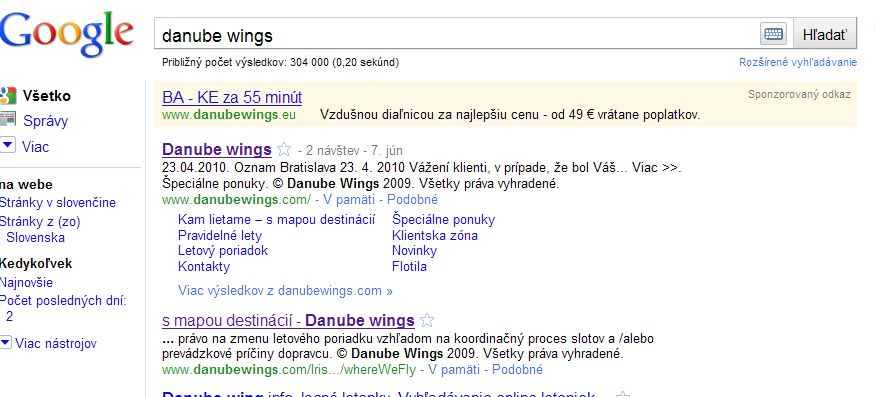 danube wings