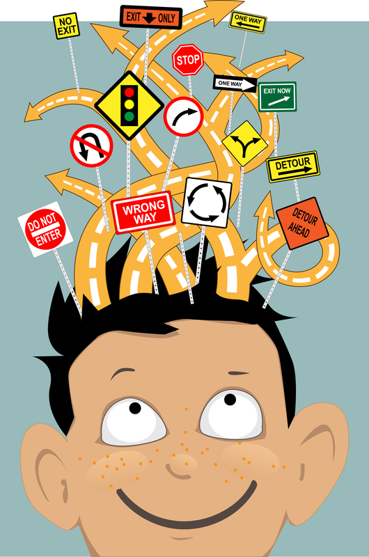 http://www.dreamstime.com/stock-images-attention-deficit-hyperactivity-disorder-tangled-roads-confusing-traffic-signs-coming-out-boy-s-head-as-metaphor-image42798544