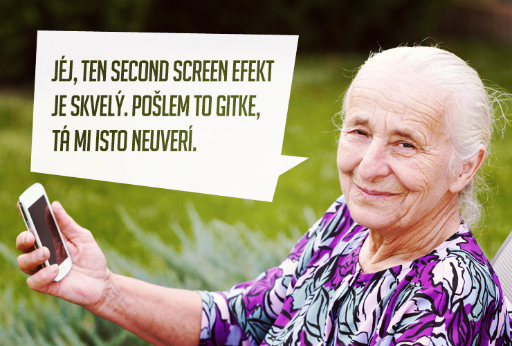 """Second screen"" efekt vdýchne kampani život"
