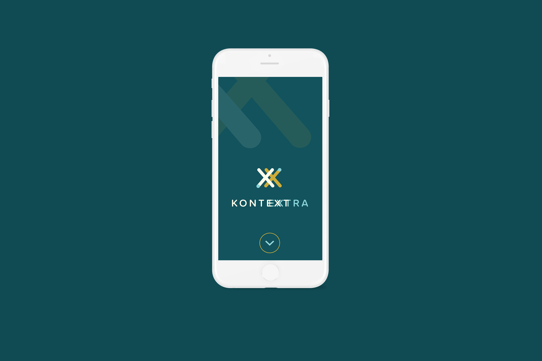 kontextra logo na mobile