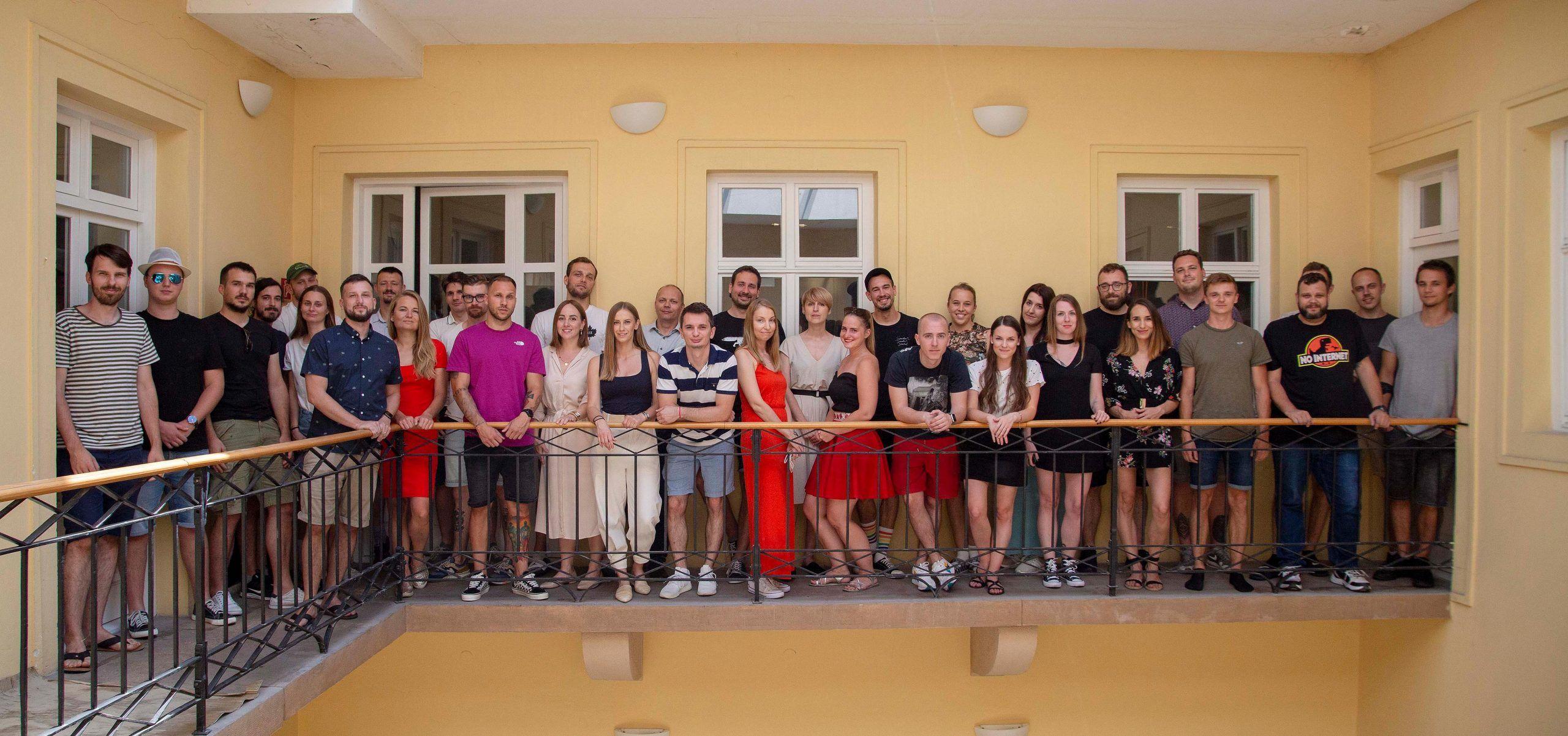 Spoločná fotografia ľudí z Visibility